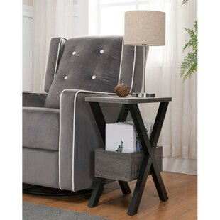 Best Deals Hooks Wooden Chairside End Table By Wrought Studio