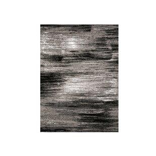 Mahlum Gray/Black Area Rug ByIvy Bronx