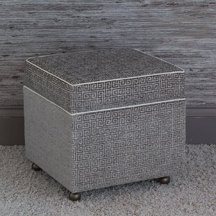 Shop for Amal Storage Ottoman By Eastern Accents