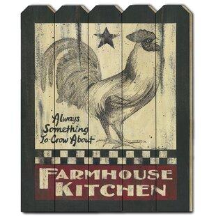 Farmhouse Kitchen Art Wayfair