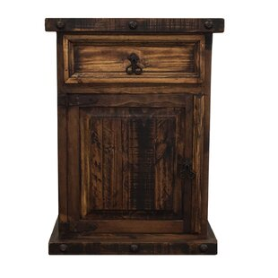 Fresno 1 Drawer Nightstand by Millwood Pines