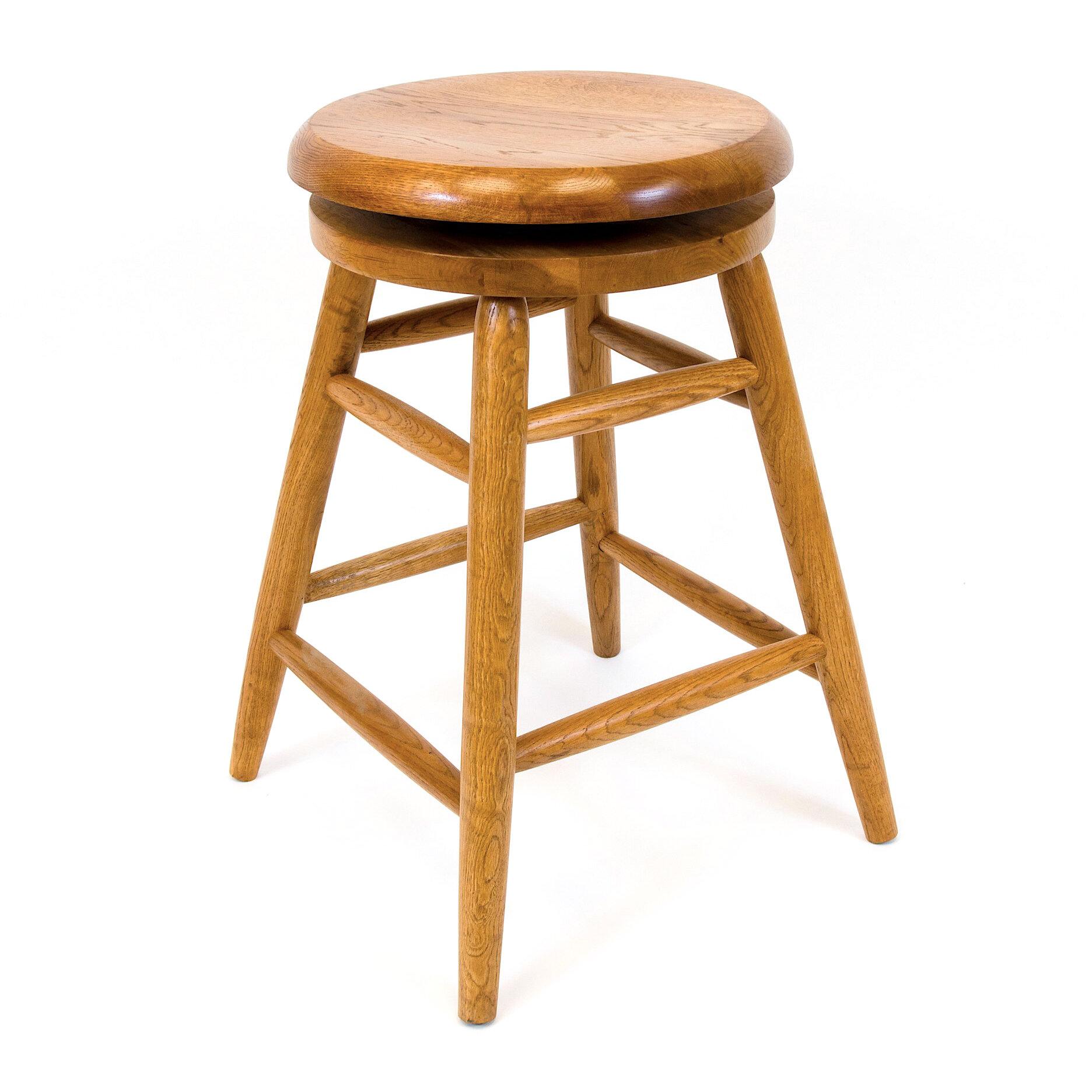 Aw Furniture 24 Swivel Bar Stool Reviews Wayfair