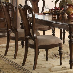 Wentzel Upholstered Dining Chair (Set of 2)