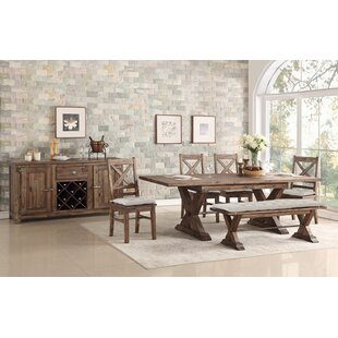 Gracie Oaks Weesner Dining Bench