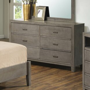 Weatherspoon 6 Drawer Double Dresser