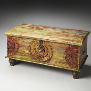 Price Check Fasano Wood Coffee Table by World Menagerie Reviews (2019) & Buyer's Guide