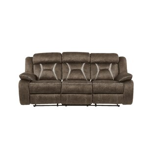 Great Price Mateas Stitched Fabric Reclining Sofa by Red Barrel Studio Reviews (2019) & Buyer's Guide