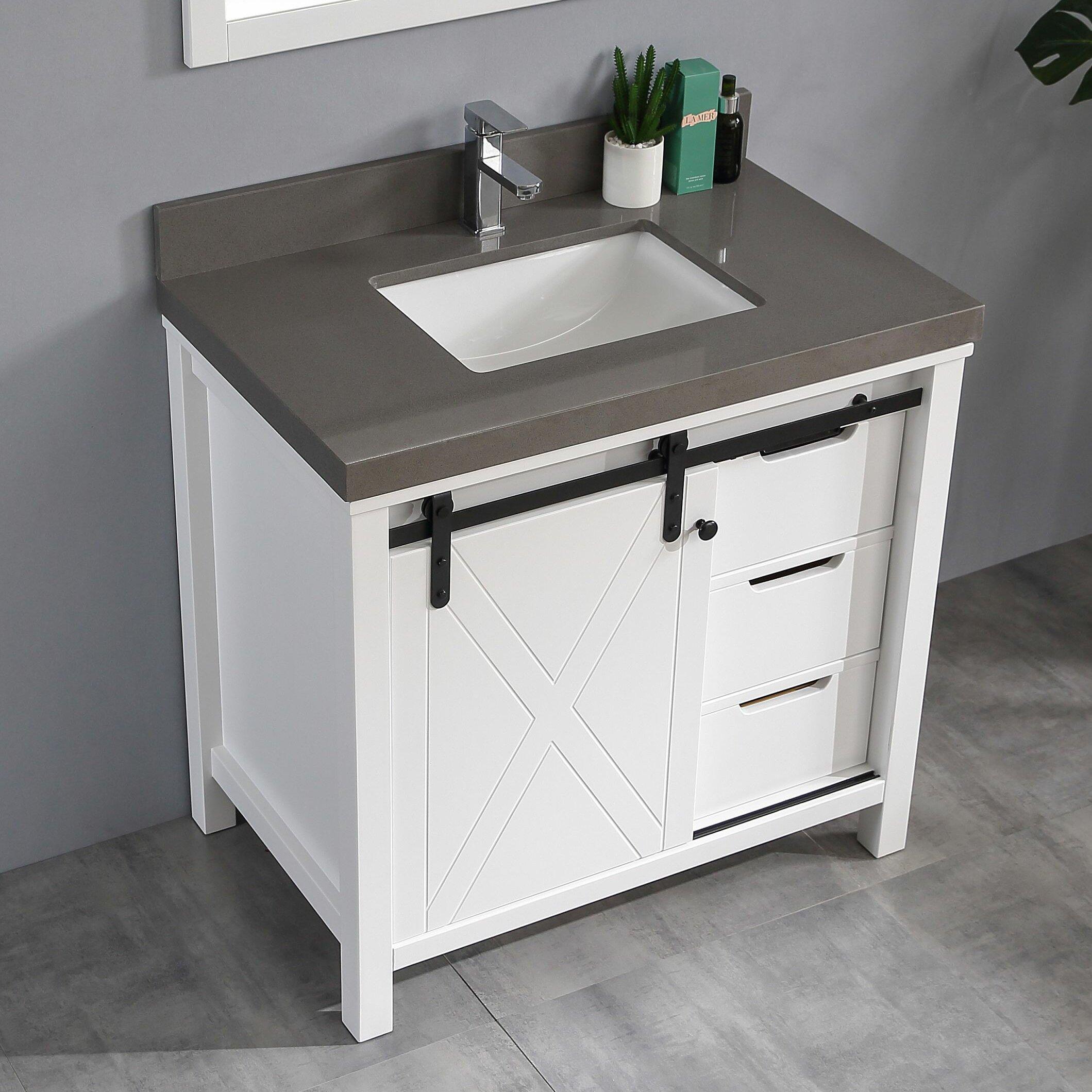 Gracie Oaks Keya 36 Single Bathroom Vanity Wayfair