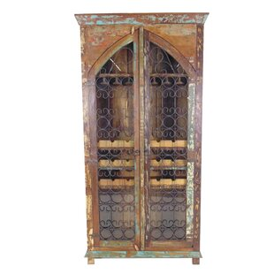 Mcdonnell 21 Bottle Floor Wine Cabinet by Bloomsbury Market