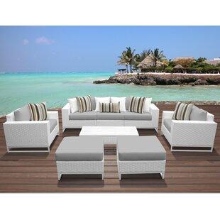 Miami 8 Piece Sofa Seating..