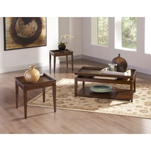 Steve Silver Furniture Clemson 3 Piece Coffee Table Set