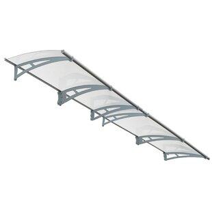 Palram Aquila™ 4100 13.5 ft. W x 3 ft. D Door Awning