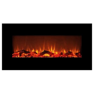 Orren Ellis Behling Wall Mounted Electric Fireplace