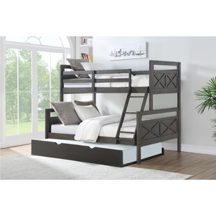 Collard Barn Twin Over Full Bunk Bed with Trundle