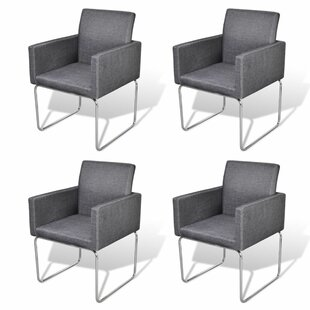 Topeka Upholstered Dining Chair (Set of 4..