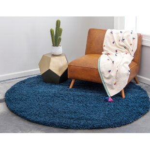 Falmouth Sapphire Blue Area Rug by Andover Mills