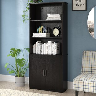 Elicia Standard Bookcase by Orren Ellis Cool