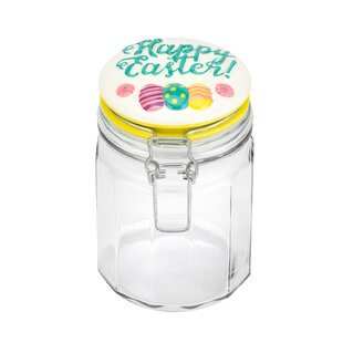 Hermetic Glass 0.88 qt. Kitchen Canister