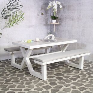 Lanoka Metal Picnic Table By Sol 72 Outdoor