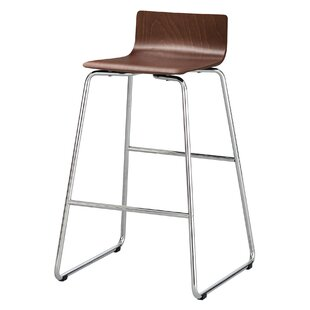 Caiden Bar-Height Steel Stool by Rebrilli..