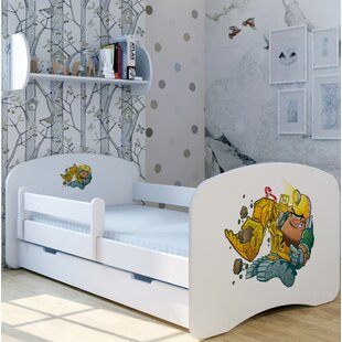 Bruno Excavator Bed With Mattress And Drawer By Zoomie Kids