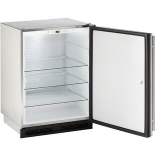 Reversible Stainless Steel 24-inch 5.2 cu. ft. Undercounter Refrigeration