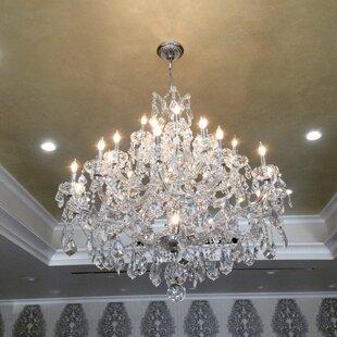 Astoria Grand Kiazolu 28-Light Candle Style Chandelier