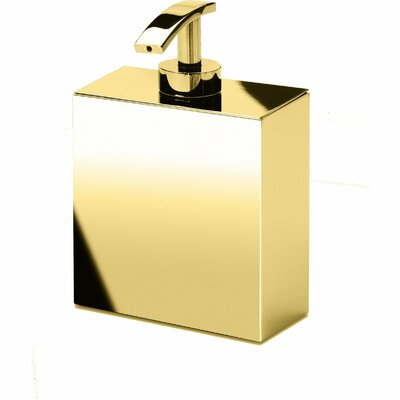6001cd99fdd7 Sisler Box Metal Pump Soap Lotion Dispenser Orren Ellis Finish ...