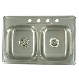 24 Inch Drop In Kitchen Sink | Wayfair
