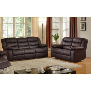 Living In Style Casta Reclining 2 Piece Living Room Set