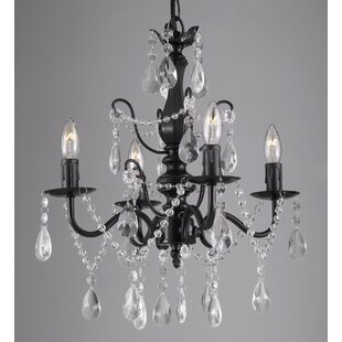 Lark Manor Padillo 4-Light Candle Style Chandelier