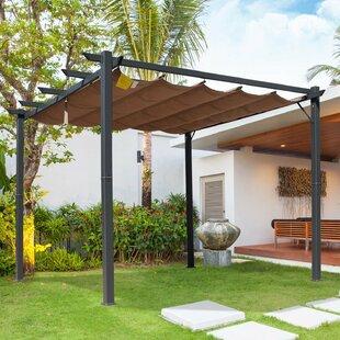 3m X 3m Aluminium Patio Gazebo By Sol 72 Outdoor
