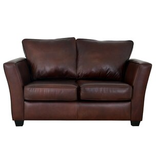 Compare Bridgeport Leather Loveseat by Westland and Birch Reviews (2019) & Buyer's Guide