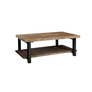 Somers 42 Wood Metal Coffee Table