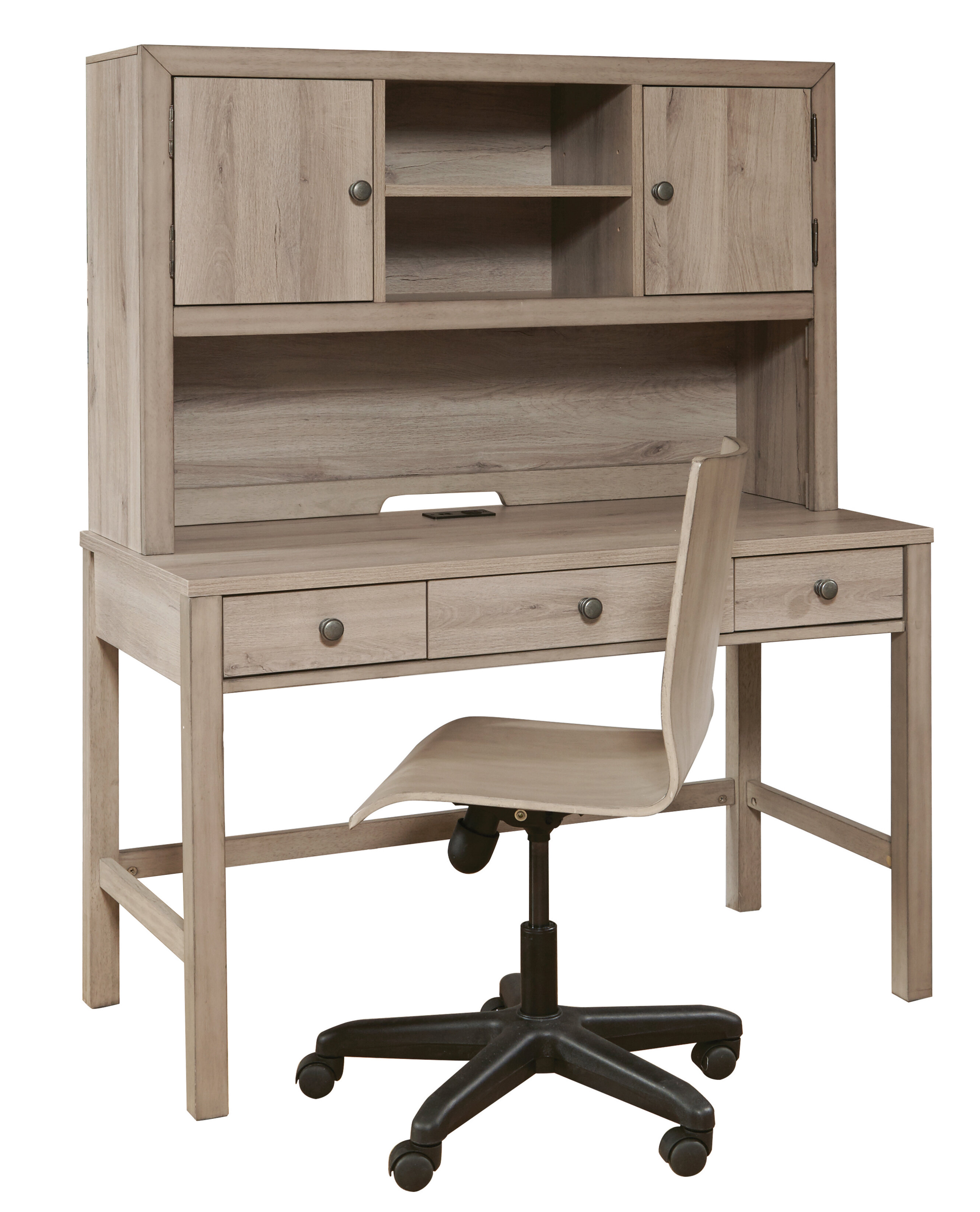 Isabelle Max Kareem Usb Charging 22 05 Writing Desk And Chair Set Reviews