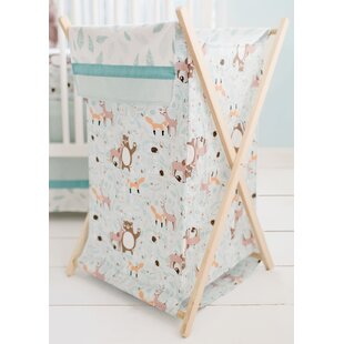 My Baby Sam Forest Friends Laundry Hamper
