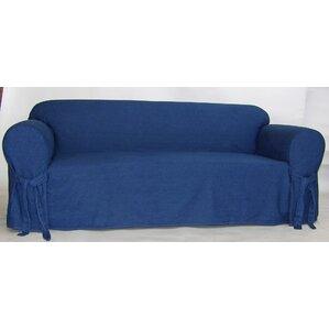 Classic Slipcovers Authentic Box Cushion Sofa Slipcover