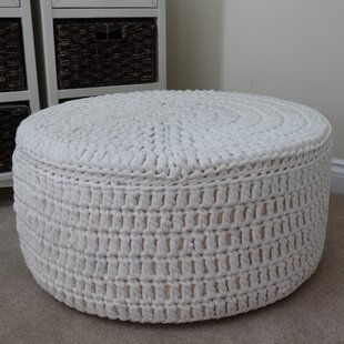 Brandon Knitted Pouffe By House Of Hampton