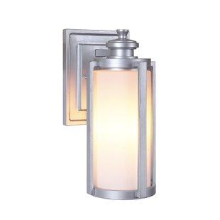 Carsten 1-Light Outdoor Wall Lantern by Gracie Oaks