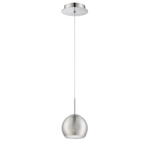 Rhondo 1-Light Globe Pendant by Kendal Lighting