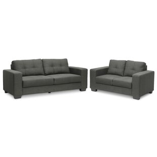 Great Price Spicer 2 Piece Living Room Set by Ebern Designs Reviews (2019) & Buyer's Guide