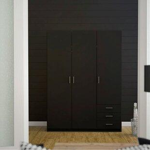 Alyvia 3 Door Wardrobe By Brayden Studio