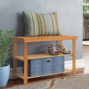 8 Pair Shoe Storage Bench by Rebrilliant