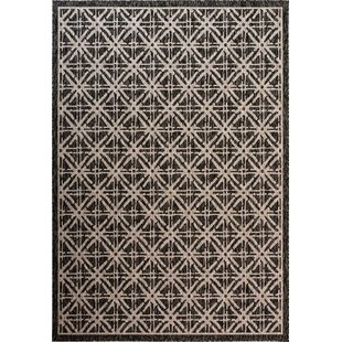 Louise Cambridge Diamond Brown Indoor/Outdoor Area Rug
