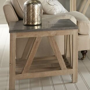 Hafner End Table by Rosecliff Heights