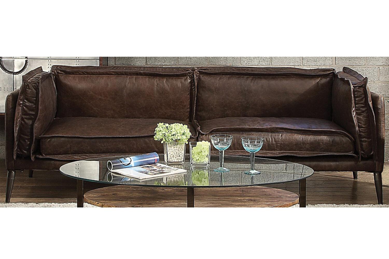 Amazing Eilidh Leather Sofa Theyellowbook Wood Chair Design Ideas Theyellowbookinfo