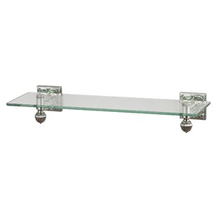 Yearby Glass Wall Shelf by Latitude Run
