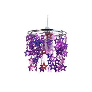 Glittery Star 22cm Novelty Pendant Shate by HoneyBee Nursery