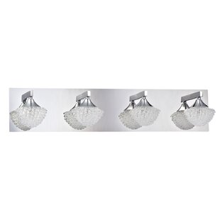 Compare & Buy Icicle 4-Light Bath Bar By Kendal Lighting