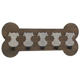 Snell Wooden Wall Mounted Coat Rack (Set Of 2) By August Grove